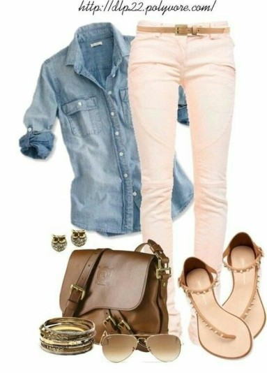romantic and chic casual