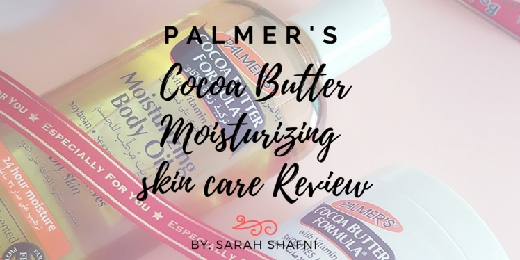 Palmer's - Cocoa Butter Moisturising body oil & daily skin therapy review!