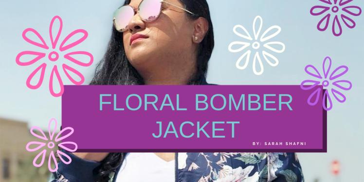 Floral BomberJacket