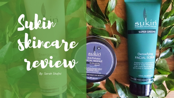 Sukin skincare review