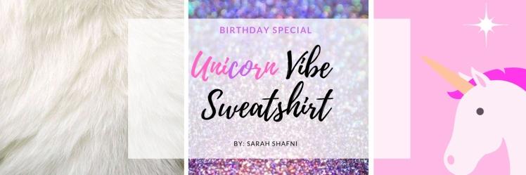 Unicorn Vibe Sweatshirt